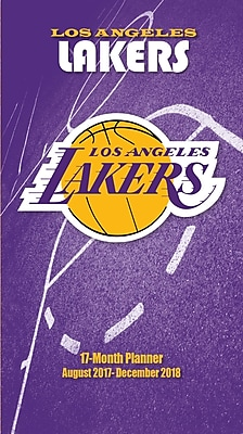 Los Angeles Lakers 2017-18 17-Month Planner (18998890596)