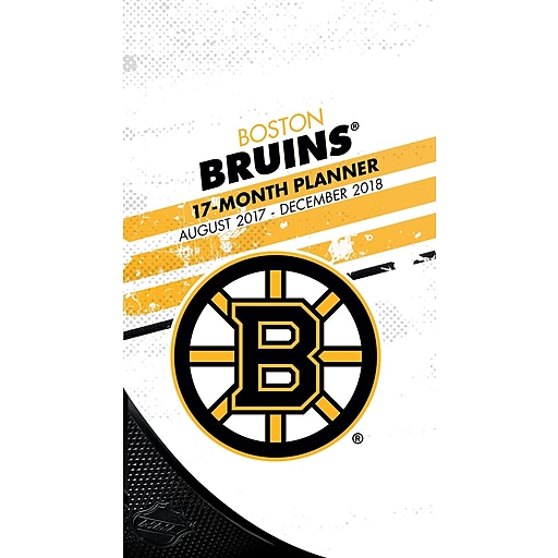 cheap for discount abe63 0b954 Boston Bruins 2017-18 17-Month Planner (18998890600)