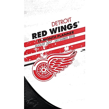 Detroit Red Wings 2017-18 17-Month Planner (18998890603)