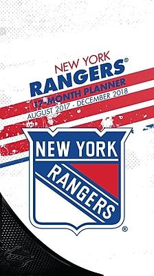 New York Rangers 2017-18 17-Month Planner (18998890604)