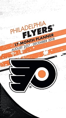 Philadelphia Flyers 2017-18 17-Month Planner (18998890605)