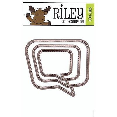 Riley & Company Word Bubble Die Set (RD06)