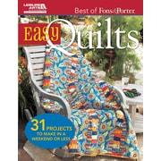 Leisure Arts Best Of Fons & Porter: Easy Quilts (LA-5560)