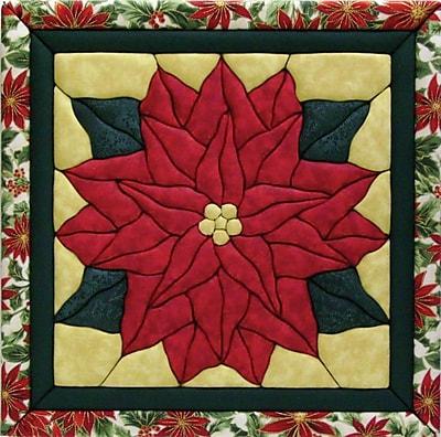 Quilt Magic Poinsettia Quilt Magic Kit 12