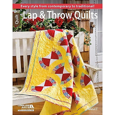 Leisure Arts Lap & Throw Quilts (LA-6443)