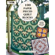 Leisure Arts 100 Paper Pieced Quilt Blocks (LA-4644)