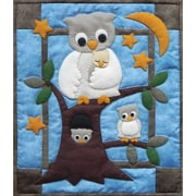 "Rachel's Of Greenfield Owl Family Wall Quilt Kit 13""X15"" (K0912)"