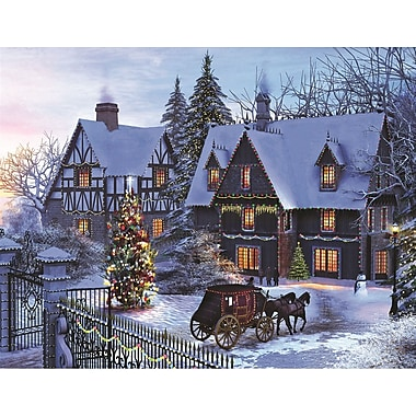 Springbok Puzzles Home for Christmas 350 Piece Jigsaw Puzzle (34-50048)