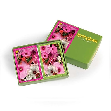 Springbok Puzzles Blossom Bouquet Bridge Jumbo Print Index Playing Cards (91-76000)