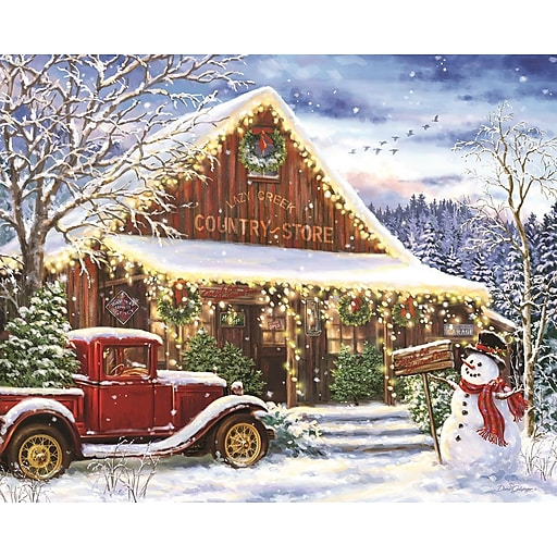 Springbok Puzzles Lazy Creek Country Store 1000 Piece Jigsaw Puzzle  (34-10851)