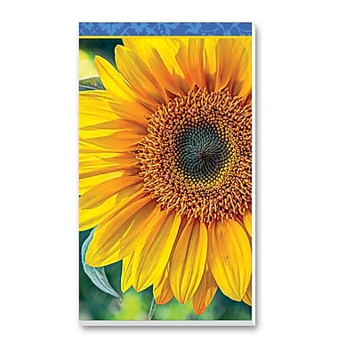 Springbok Puzzles Sunflowers Bridge Score Pads Playing Cards Accessory (91-67024)