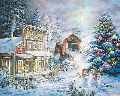 Springbok Puzzles Country Christmas Store 1000 Piece Jigsaw Puzzle (34-10750)