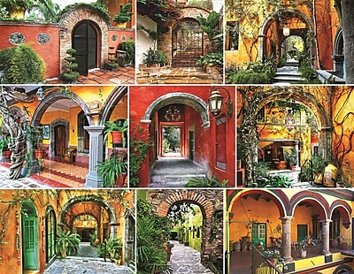 Springbok Puzzles Doors of the World 500 Piece Jigsaw Puzzle (33-01538)
