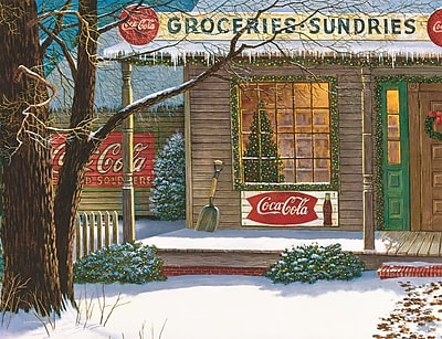 Springbok Puzzles Christmas Store 500 Piece Jigsaw Puzzle (34-01532)