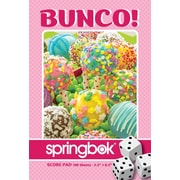 Springbok Puzzles Cake Pops Bunco Score Pads Playing Cards Accessory (91-67015)