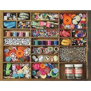 Springbok Puzzles The Sewing Box 500 Piece Jigsaw Puzzle (33-01497)