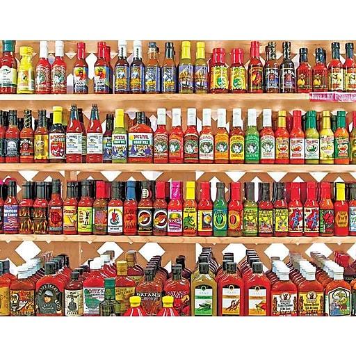 Springbok Puzzles Spicy, Hot! 500 Piece Jigsaw Puzzle (33-01482)