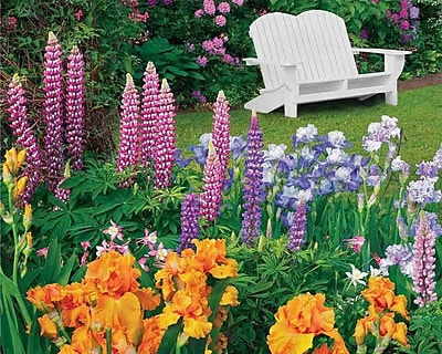 Springbok Puzzles Garden Retreat 1500 Piece Jigsaw Puzzle (33-15498)