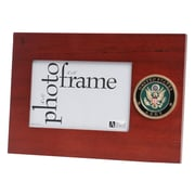 "U.S. Flag Store Army 4"" x 6"" Mahogany Wood Medallion Frame (83-386009)"