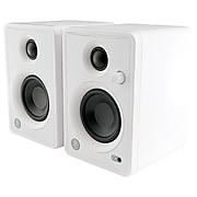 "Mackie CR3-XLTD-WHT 3"" Multimedia Studio Monitor Speakers, Pair, White (2053023-00)"