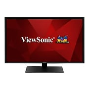 "ViewSonic 43"" 4K Ultra HD LED Monitor, Black (VX4381-4K)"