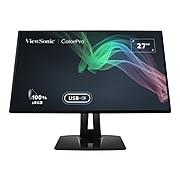 "ViewSonic 27"" 4K Ultra HD LED Monitor, Black (VP2768A-4K)"