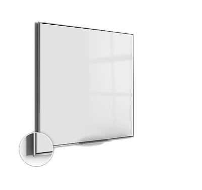 Ghent Simplicity 4'H x 4'W Acrylite Magnetic Whiteboard (SIO44AM)