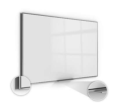 Ghent Simplicity 4'H x 8'W Acrylite Magnetic Whiteboard (SIO48AM)