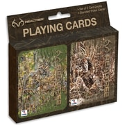 Realtree Woodland Hunter/The Calling Playing Cards- Set of Two (2181002)