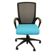 "RightAngle Products Charlie Task Chair 23""W x 21.5""D x 42""H Blue (FCCTBBLF)"
