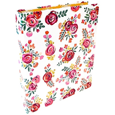 Bloom Daily Planners Vintage Floral Fashion Binder 1