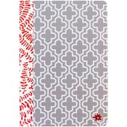 """Bloom Daily Planners Floral Quartrefoil Notebook 7""""X10"""""""