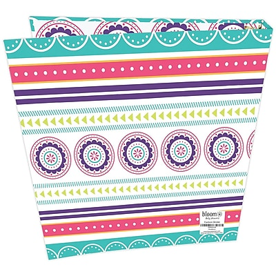 Bloom Daily Planners Medallions Fashion Binder 1