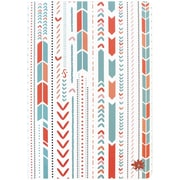 "Bloom Daily Planners Arrows Notebook, 7"" x 10"" (J2G5-GD)"