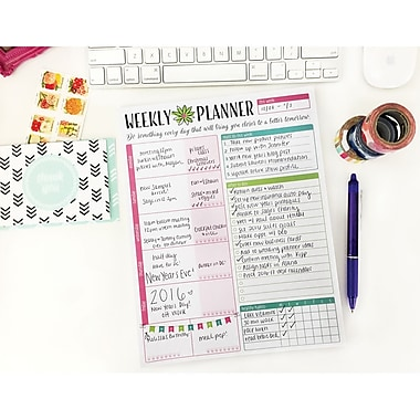 Bloom Daily Planners Bloom Planning System Pad, 8.5