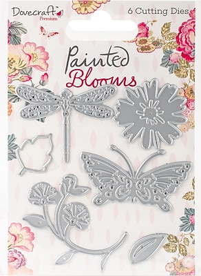 Trimcraft Painted Blooms Dovecraft Dies, 6/Pkg (DCDIE078)
