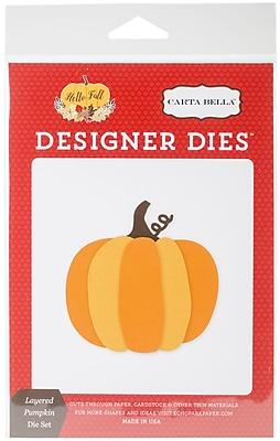 Echo Park Paper Layered Pumpkin Carta Bella Dies (HF70040)