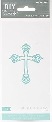 Kaisercraft Cross Decorative Die, 2.25