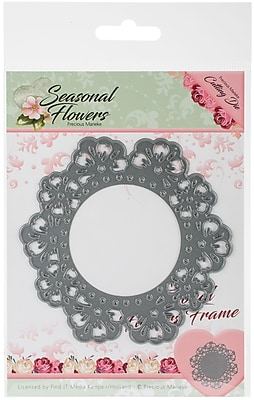 Find It Trading Flower Frame Precious Marieke Seasonal Flowers Die (PM10082)