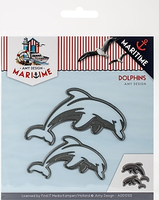 Find It Trading Dolphins Amy Design Maritime Die (ADD10102)