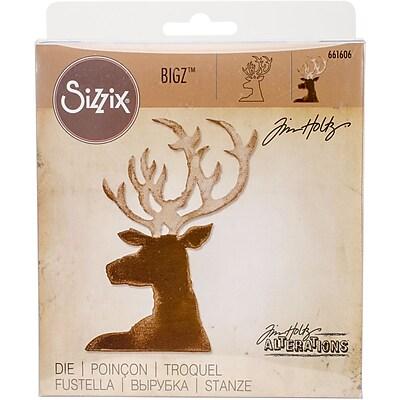 Sizzix Dashing Deer Bigz Die By Tim Holtz, 3.625