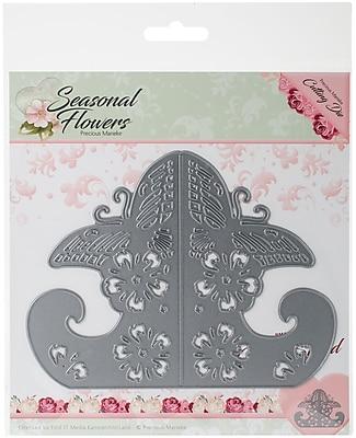 Find It Trading Card Stand Precious Marieke Seasonal Flowers Die (PM10083)