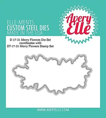 Avery Elle Merry Flowers Elle-Ments Dies (D1731)