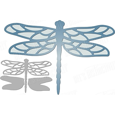 Ecstasy Crafts Dragonfly Small Dee's Distinctively Dies (IME227)