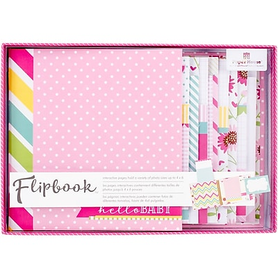 Paper House Baby Girl Flipbook Interactive Album (FB-0003E)
