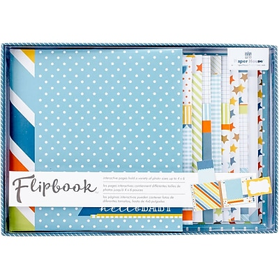 Paper House Baby Boy Flipbook Interactive Album (FB-0002E)