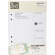 Simple Stories Daily Planner Essentials Double-Sided A5 Inserts, 156/Pkg (PE4946)