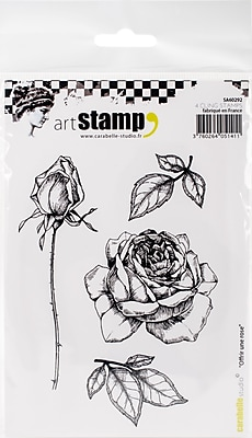 Carabelle Studio Offer A Rose Cling Stamp A6 (SA60292)