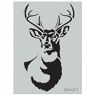 Stencil1 Large Antler Deer Stencil, 24
