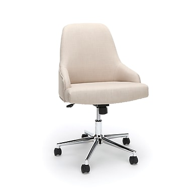 Essentials by OFM Upholstered Chair, Tan (ESS-2086-TAN)